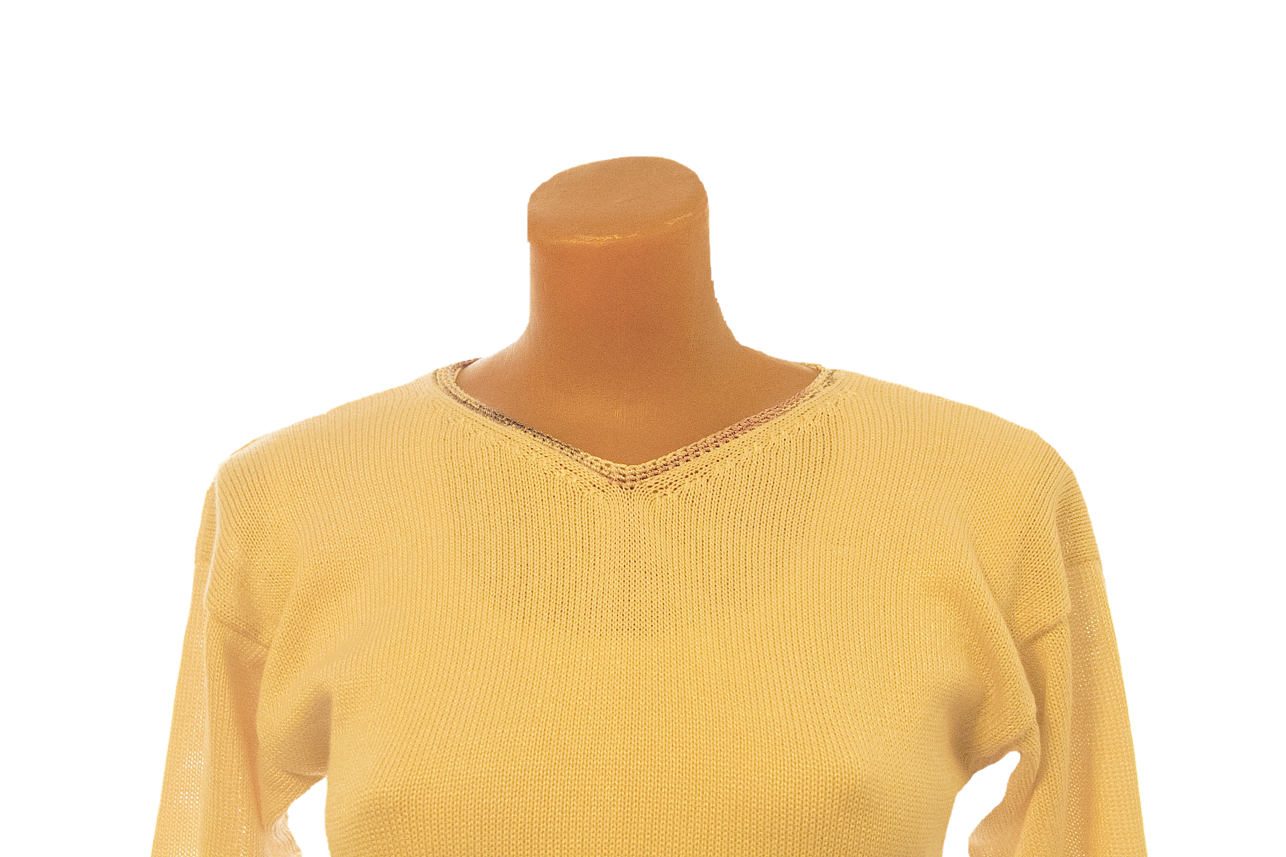 handmade knitted pullover jersey