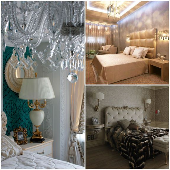 fashion romantic bedroom original lightning decorate