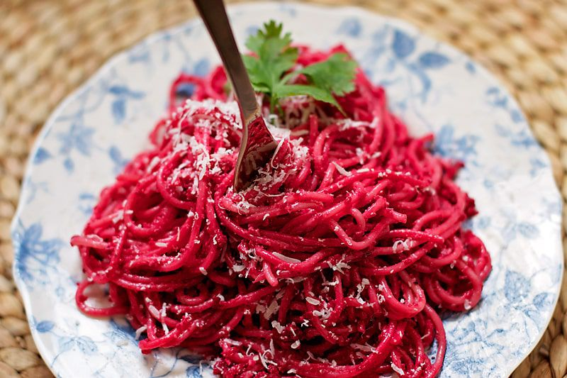 recipes beetroot beetrootpasta healthyfood veganfood