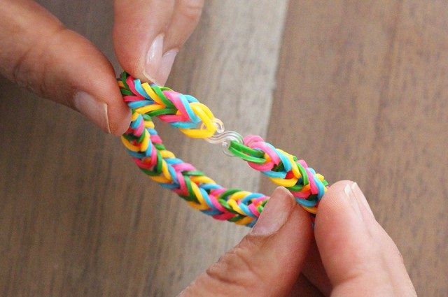accessories rubber bands fishtail bracelet make