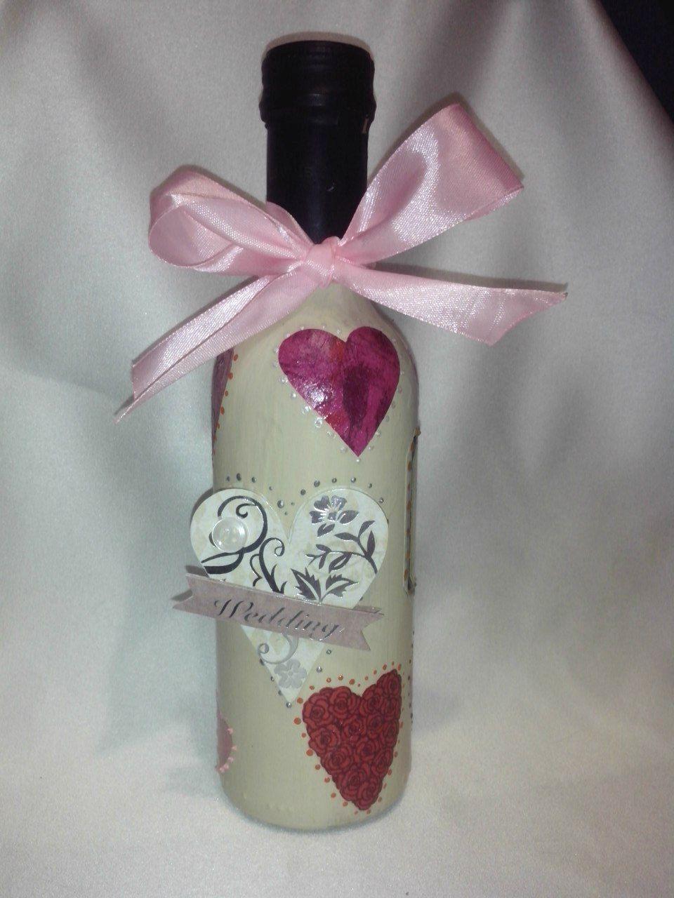 wedding decor bottle holiday wine decoration