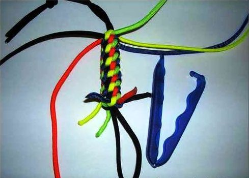 color goods laces lanyard keychain textile make