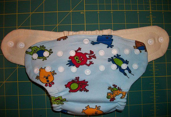 make cloth diapers for children