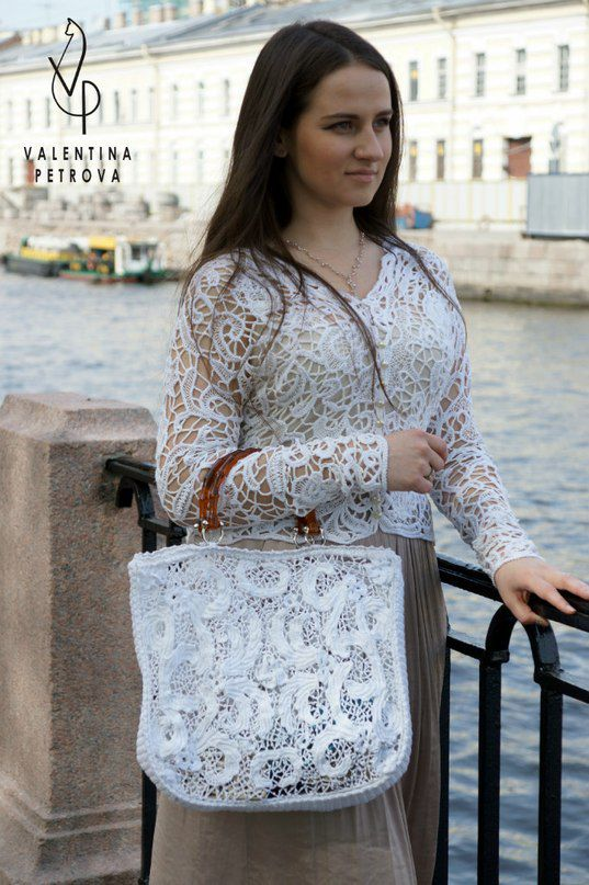 bag luxury unique lacy handmade