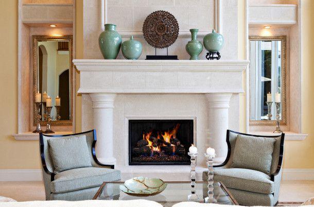 mantel fireplace designing decorate furnish