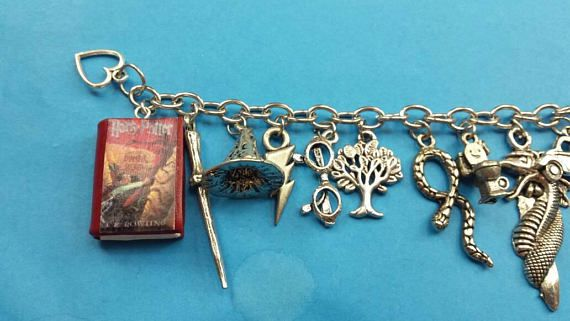 bracelet and jewelry charm harry potter fandom the chamber secrets