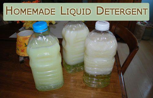 liquid detergent laundry instructions make
