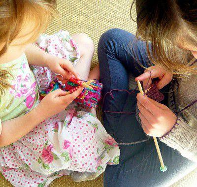 wooden knitting needles handicrafts make
