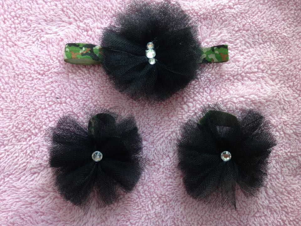 tulle and set headband sandals barefoot photo props sandal