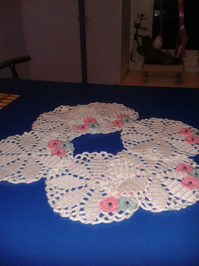 pads white kitchen pink interior knitting