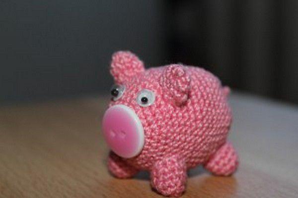 goods piggy stuffed crochet animals textile