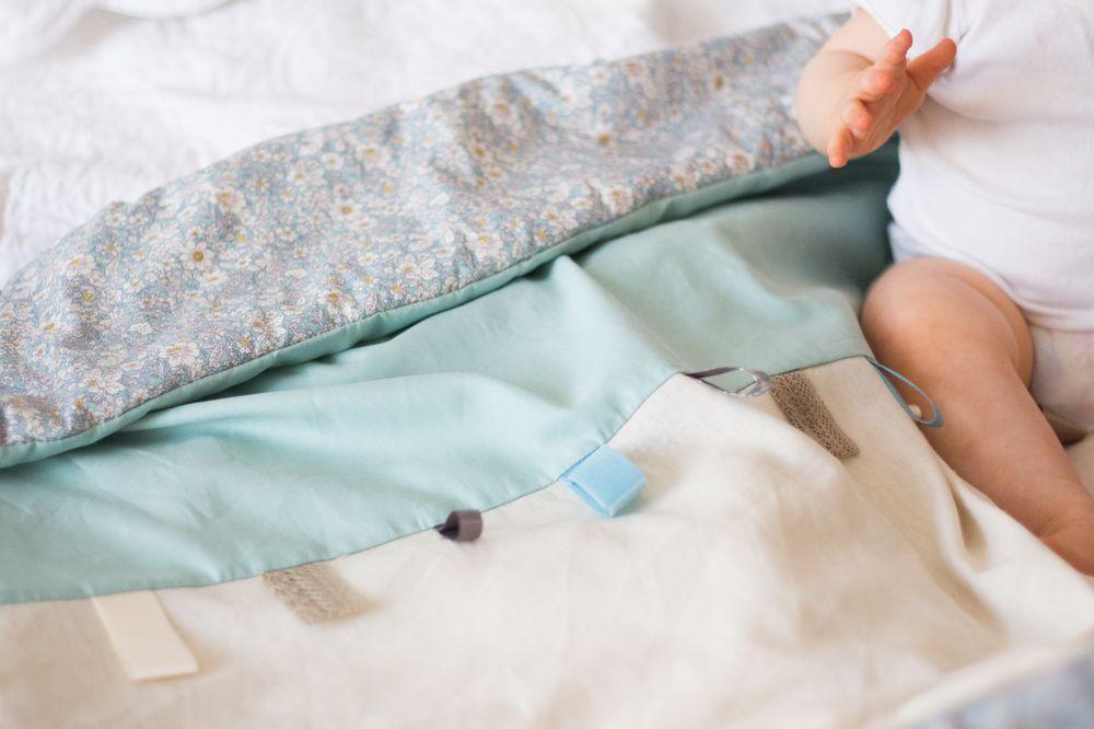 baby handmade sewing blanket diy inspiration handicraft bright forchildren abbiglikids cozy abbiglisewing babyblanket textilecrafts