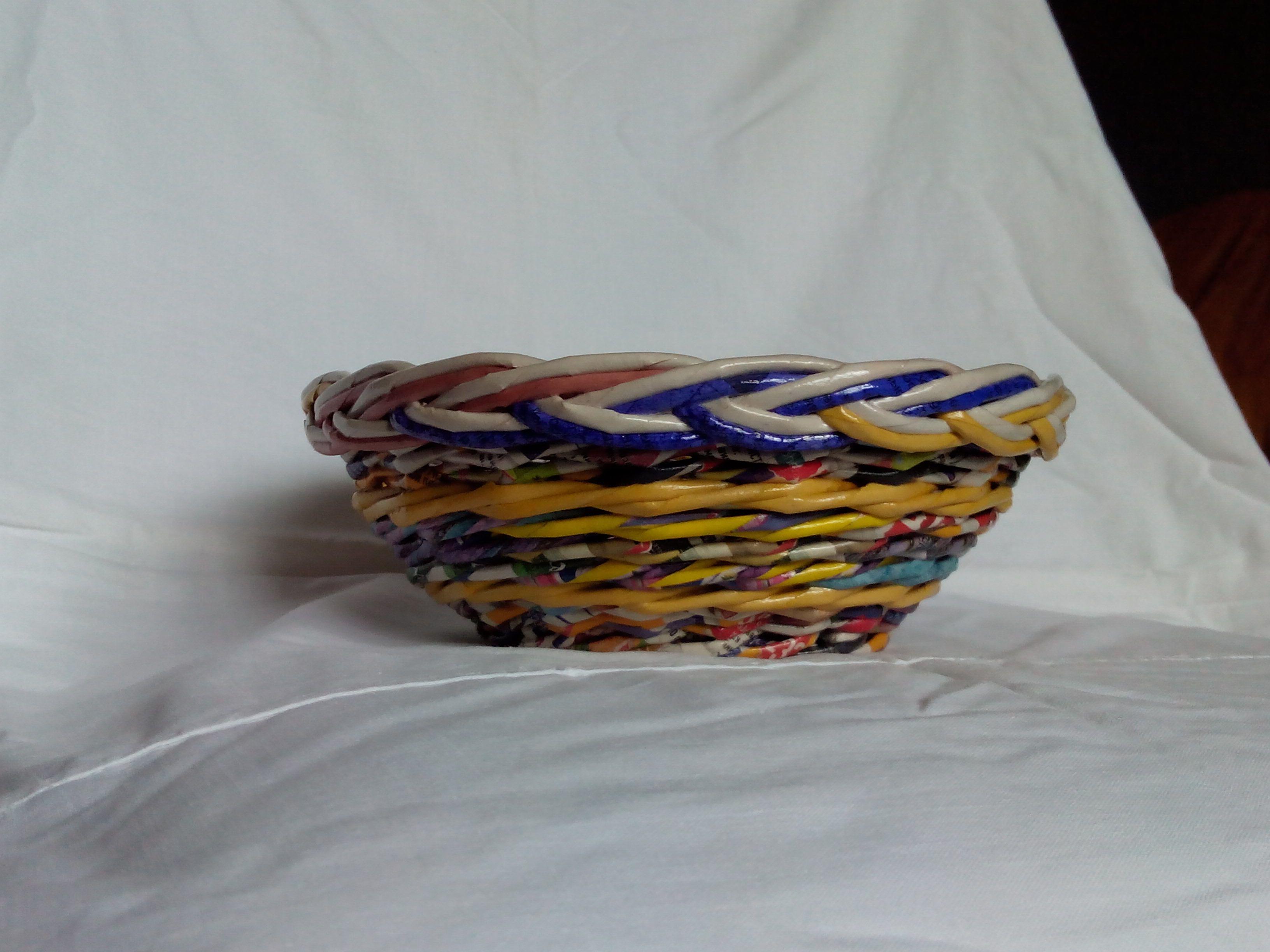 kitchen breadbox interior bright candy paper