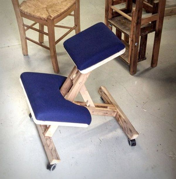 make wooden chair ergonomic handicrafts