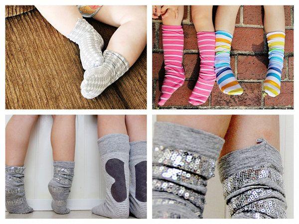make sew fabric socks clothing