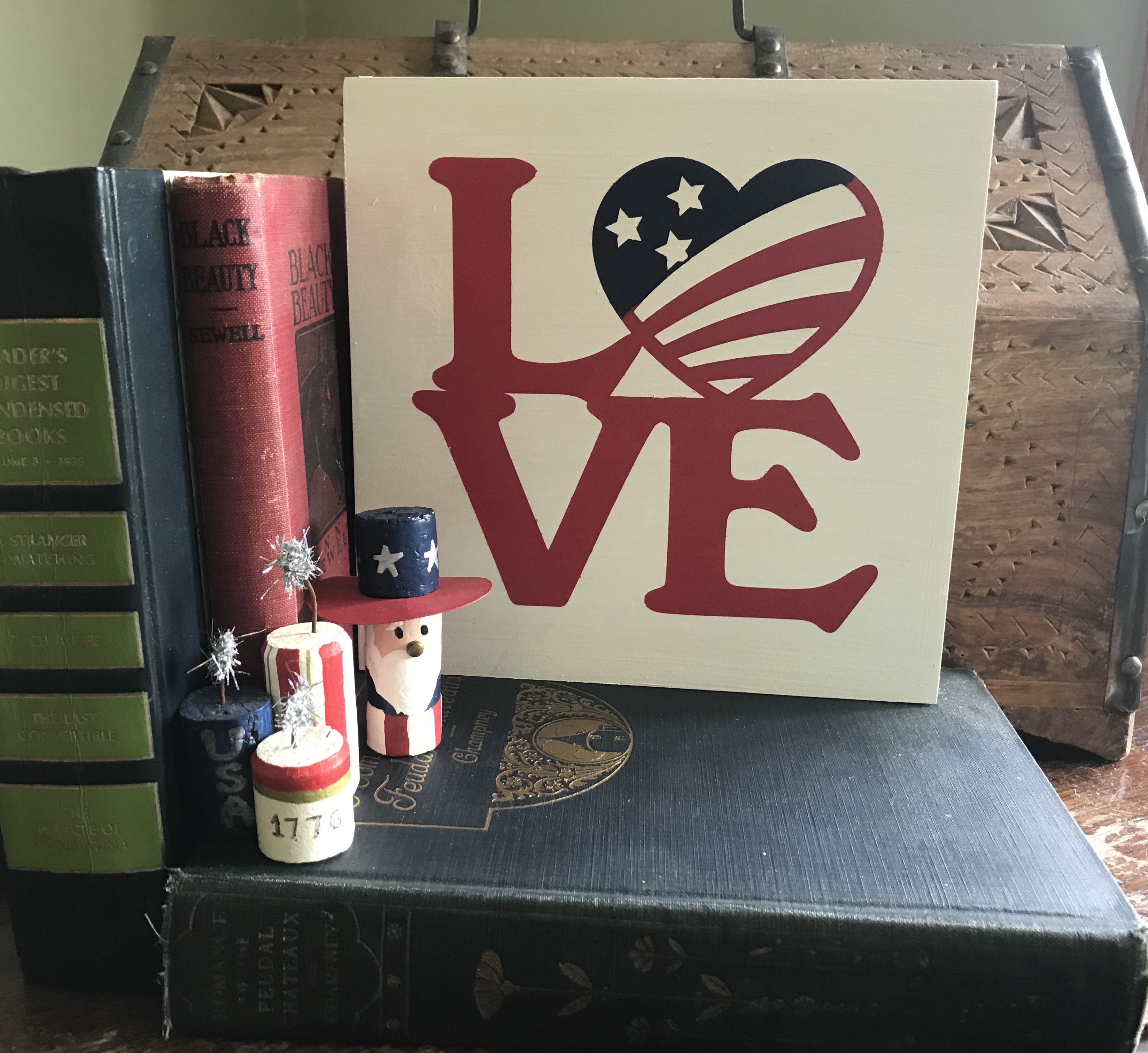 philly sam uncle fourth sign decor patriotic july love