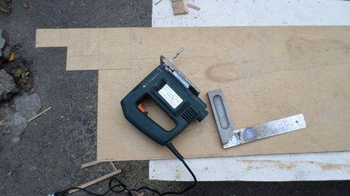 plywood box wooden handicrafts make