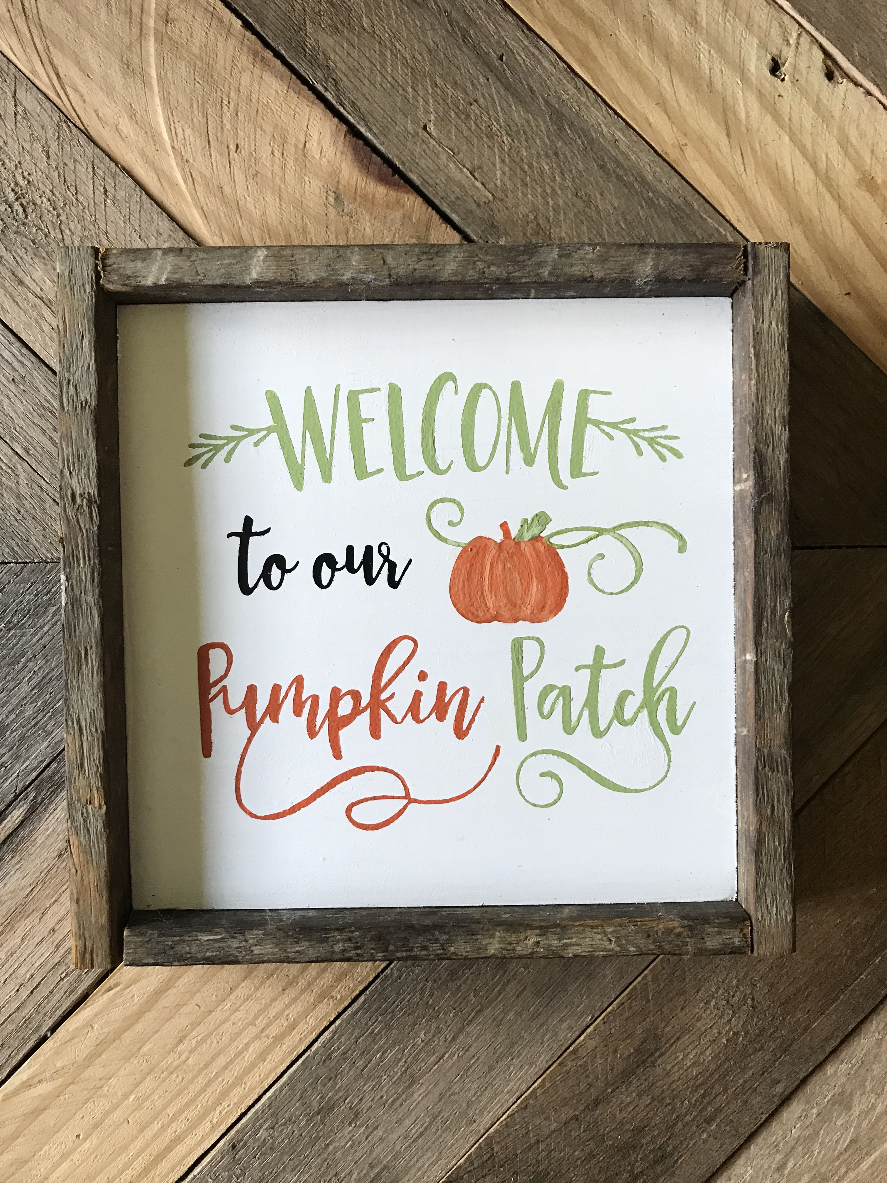 pumpkindecor farmhousedecor fallsign pumpkin