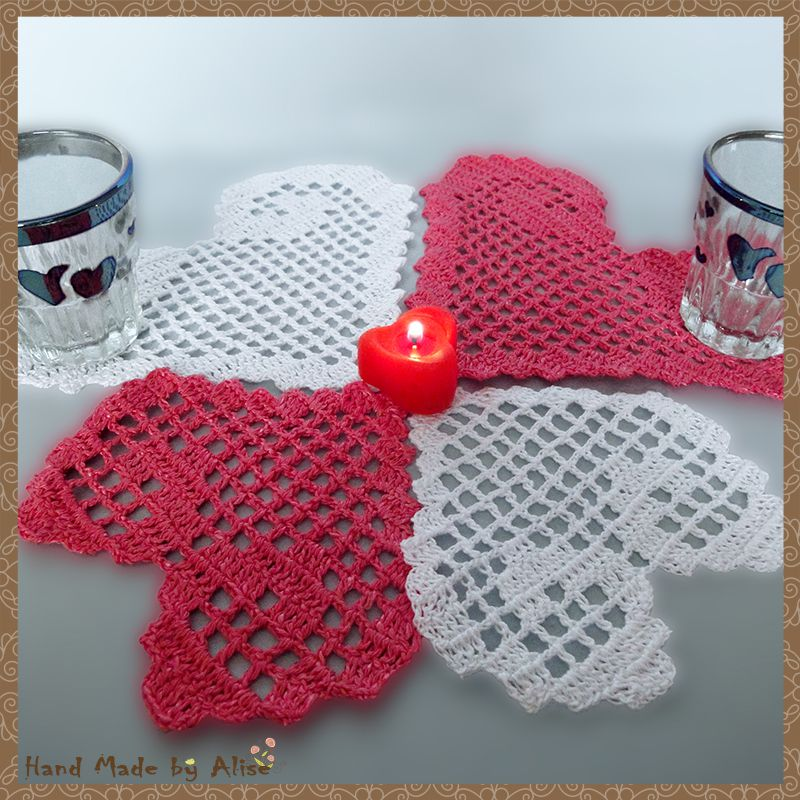 holidays crochet napkin