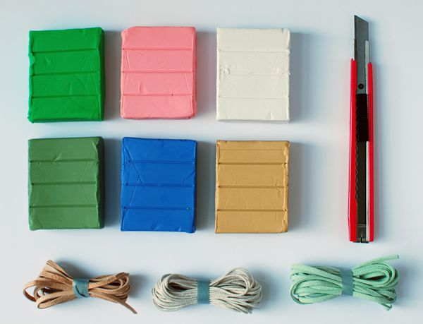 accessories colors diy style jewelry polymer clay