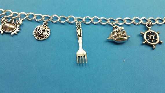fandom charm disney that part world ariel lttle jewelry bracelet mermaid