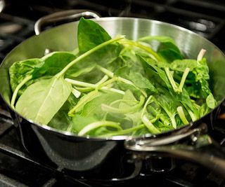 cookery spinach cook ingredients recipe