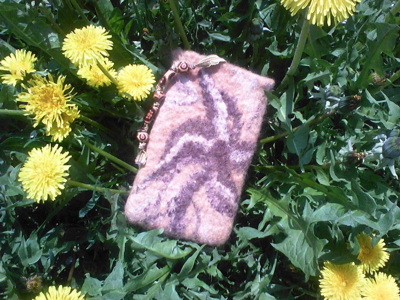 wool case cellphone
