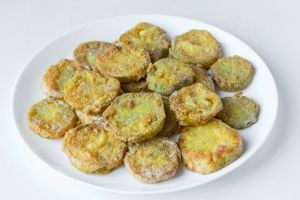 cookery fried tomatoes green cook recipe