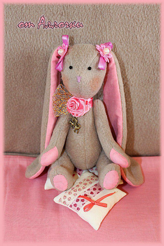toy bunny gift fleece