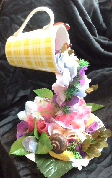 flowers gift handmade holiday souvenirs