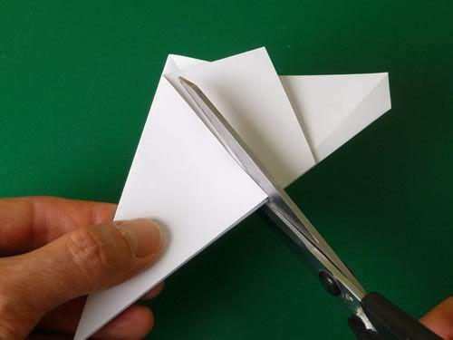 star crafts origami paper make pentagonal
