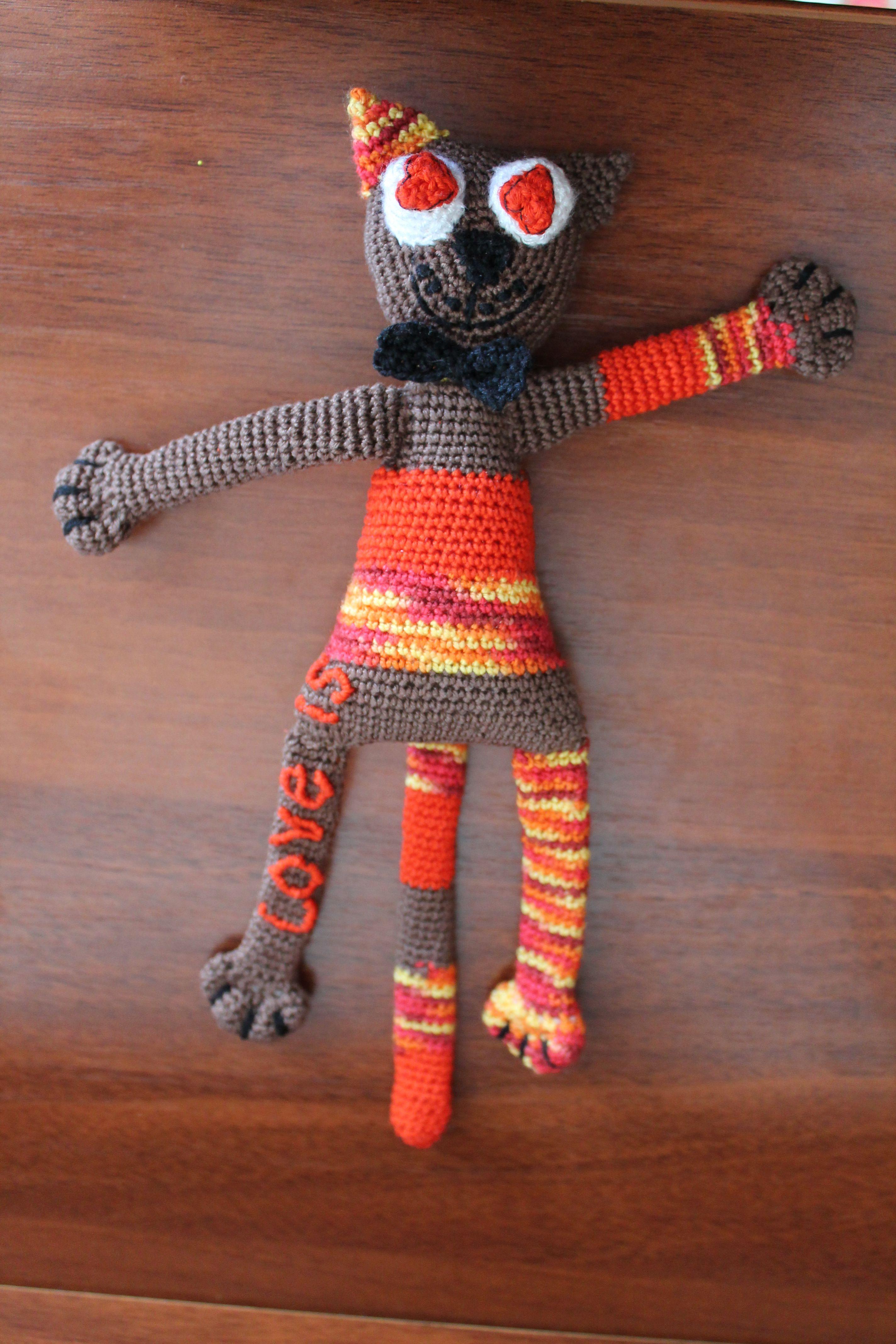 handmade love toy gift heart present craft children