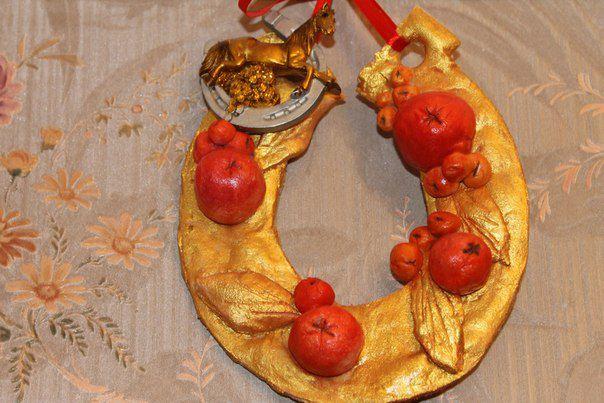 handmade gift talisman amulet horseshoe