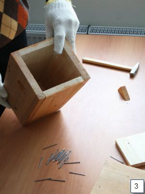 wooden handicrafts birdhouse draft make