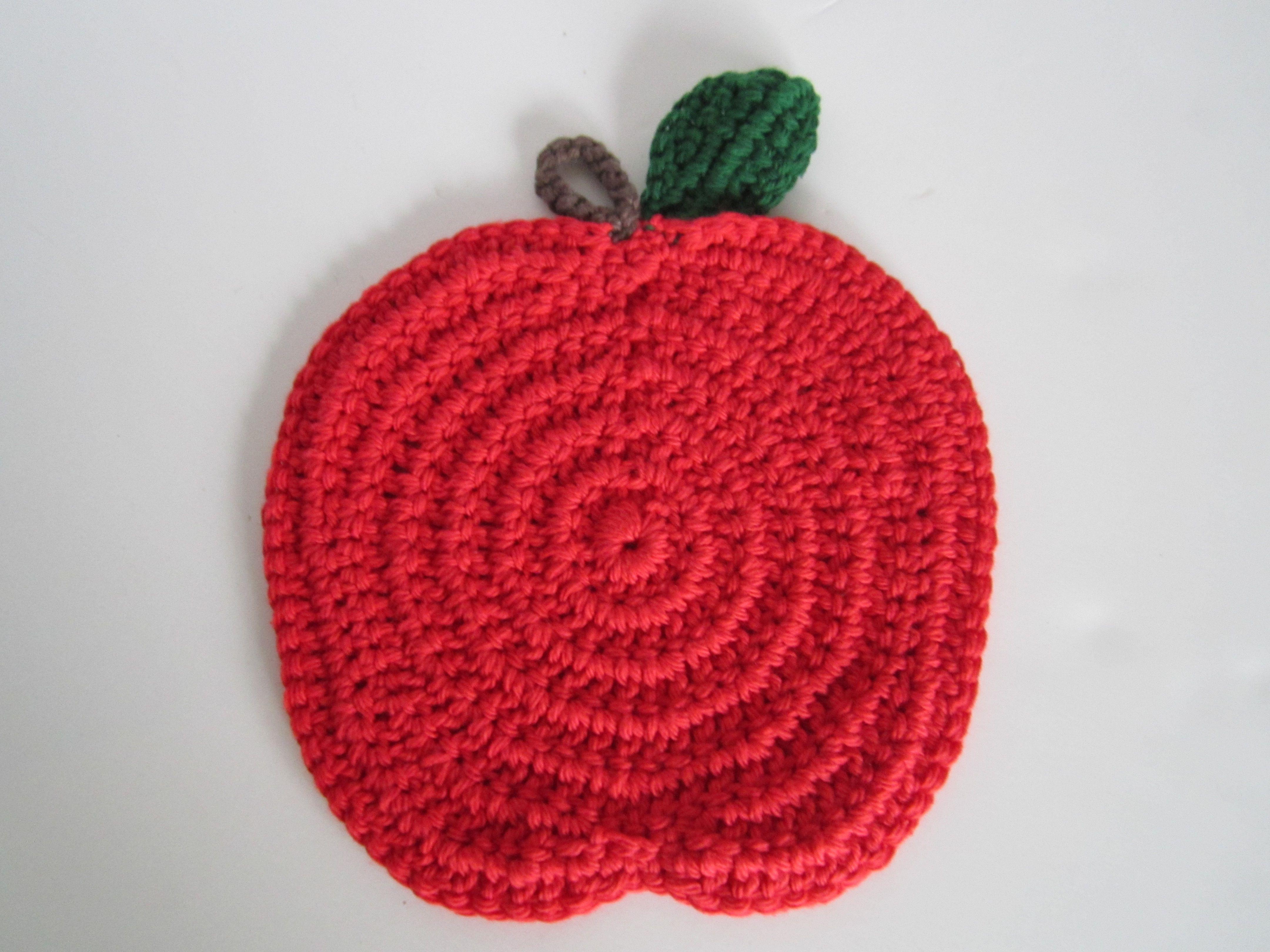 dish food cotton furniture kitchen decoration interior crochet textile beautiful home handmade holiday freeshipping modern apple