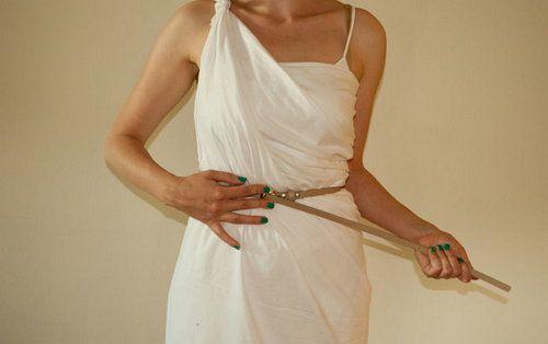 toga strap ancient greece make