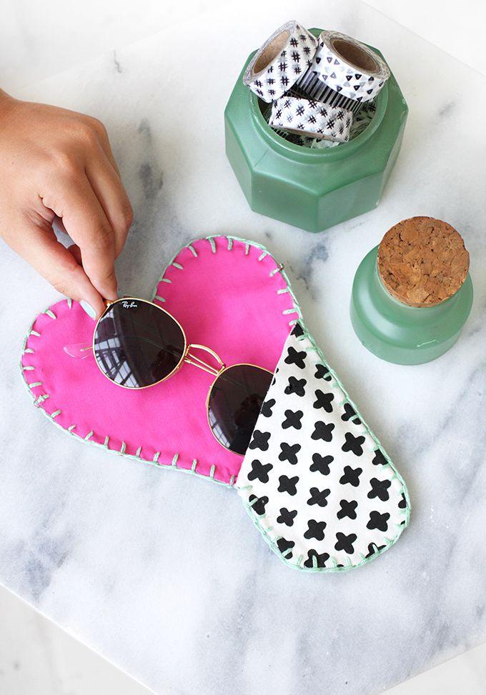 diy style heart summer sunglasses design cool