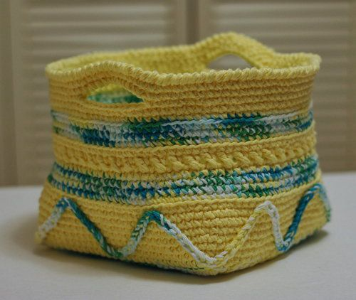 basket pattern goods textile crochet