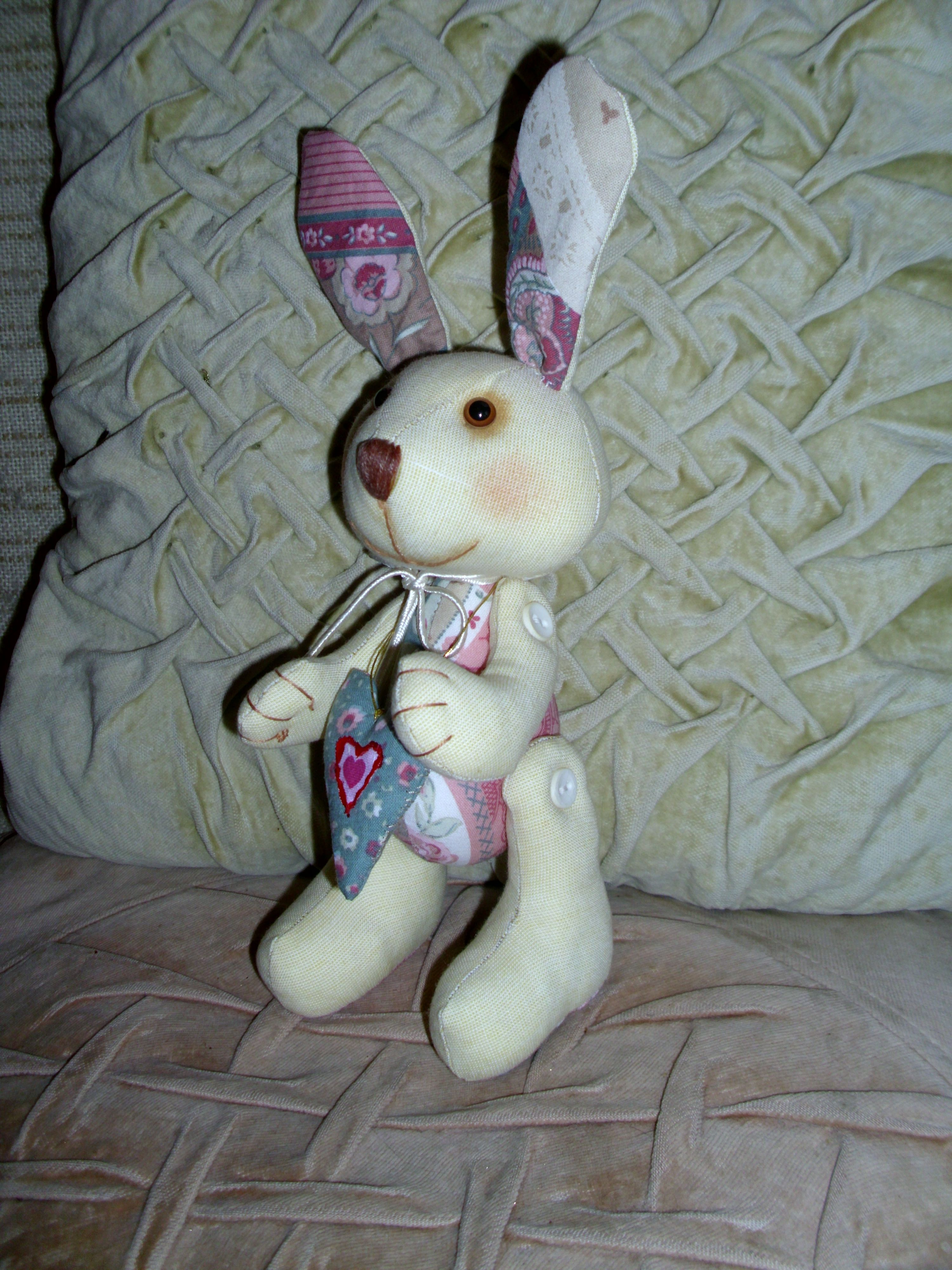 toy bunny gift textile kids