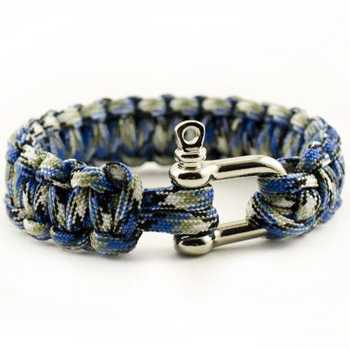 paracord bracelet make string weave