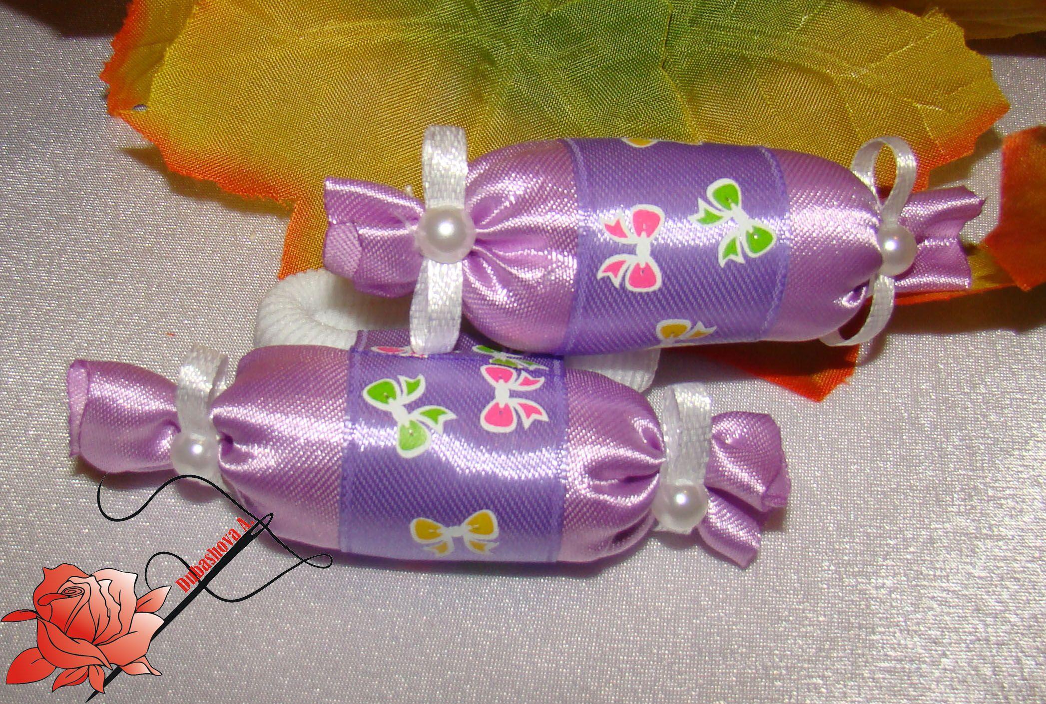 handmade atlas ribbons hairband princess