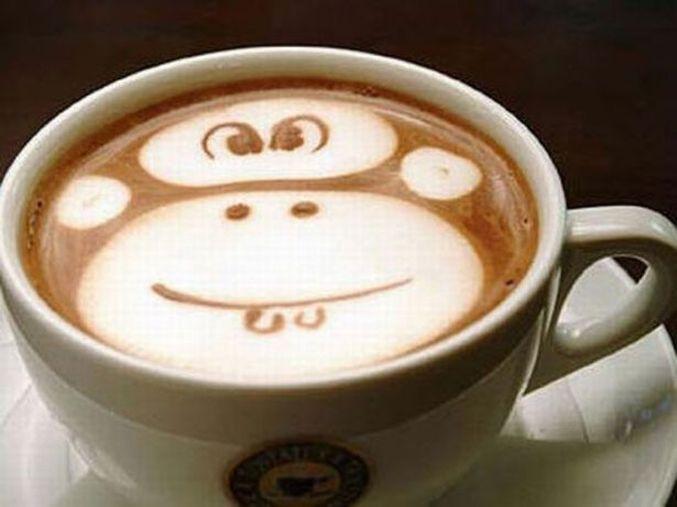 coffeeart drawoncoffee cupofcoffee creativity inspiration handicraft creativeidea chocolate handmade coffee diy masterclass