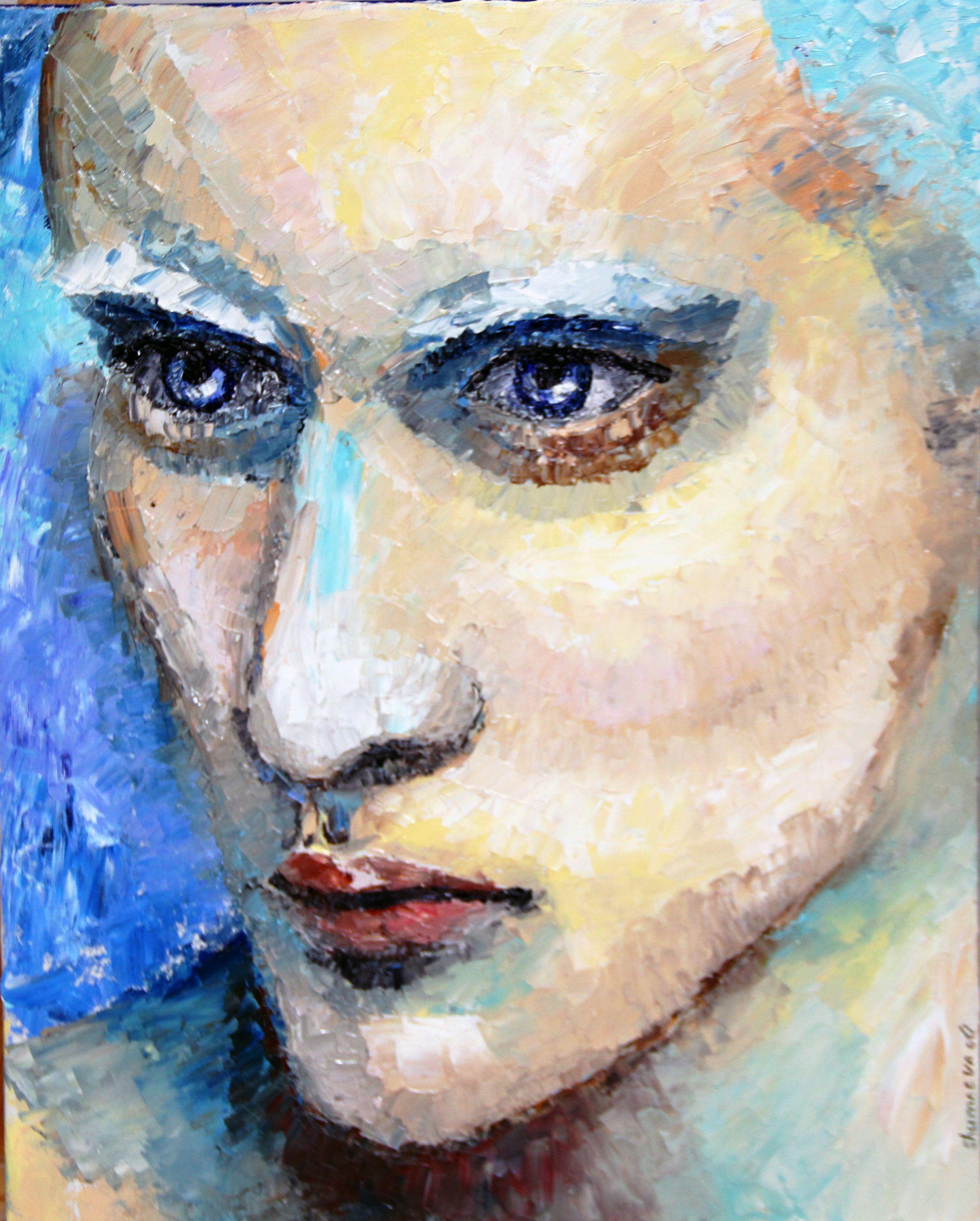 oilpainting portrait canvas people