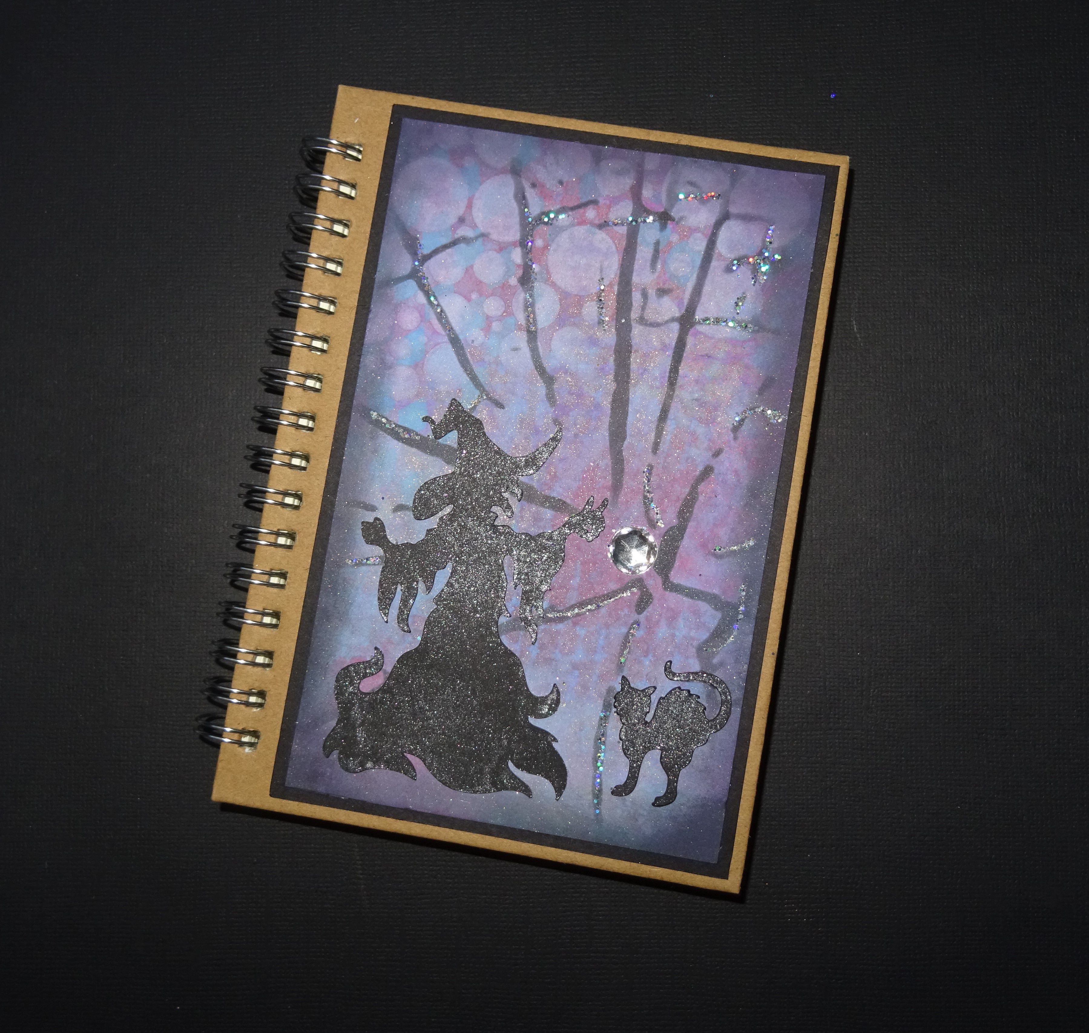 pocket witch cat and gift journal halloween notebook book lined