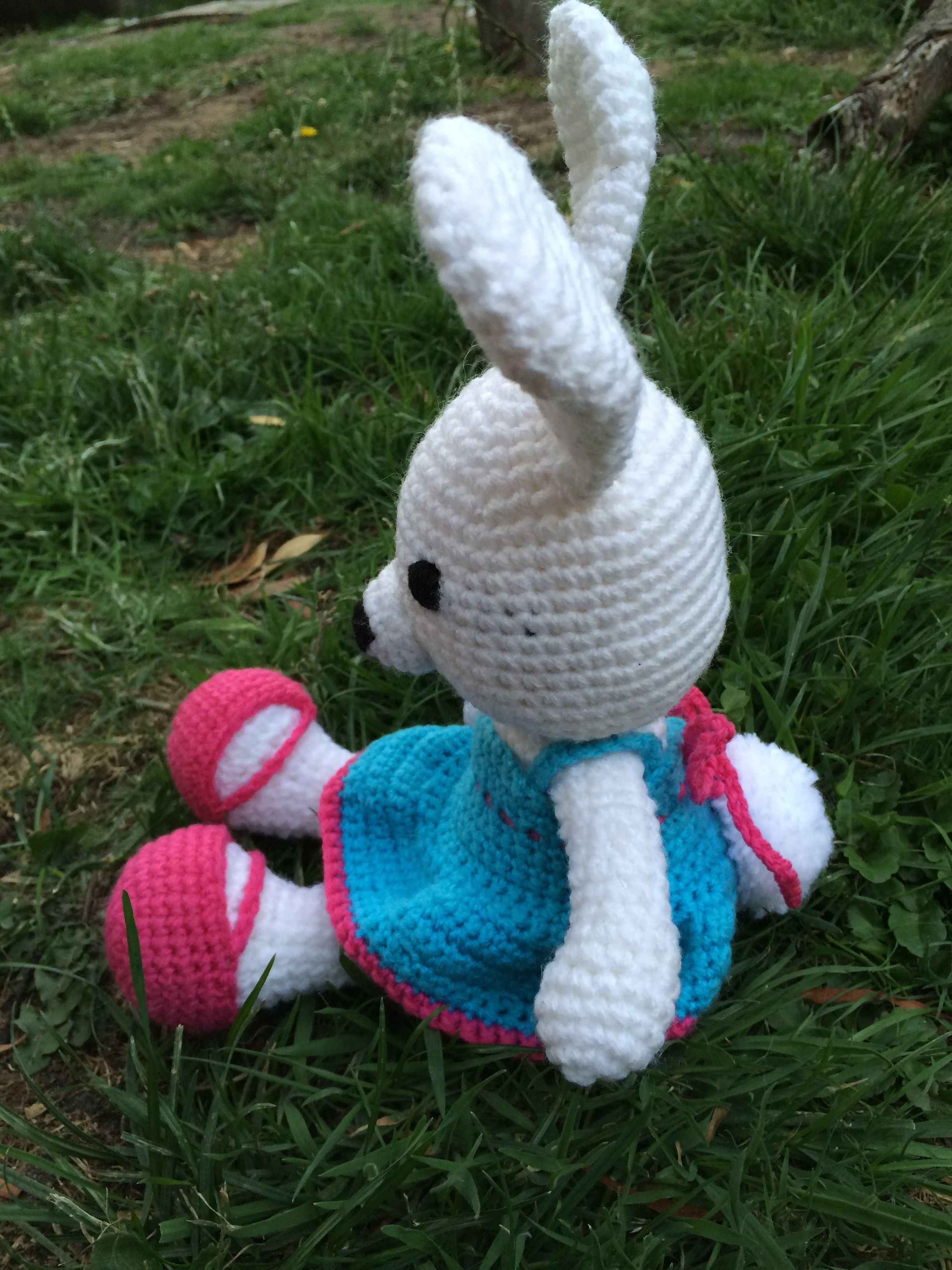 toy bunny rabbit soft easter