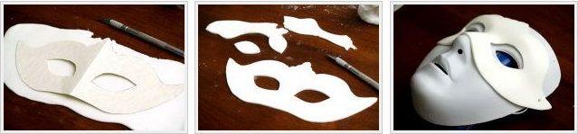 plastic plaster venetian unusual make mask