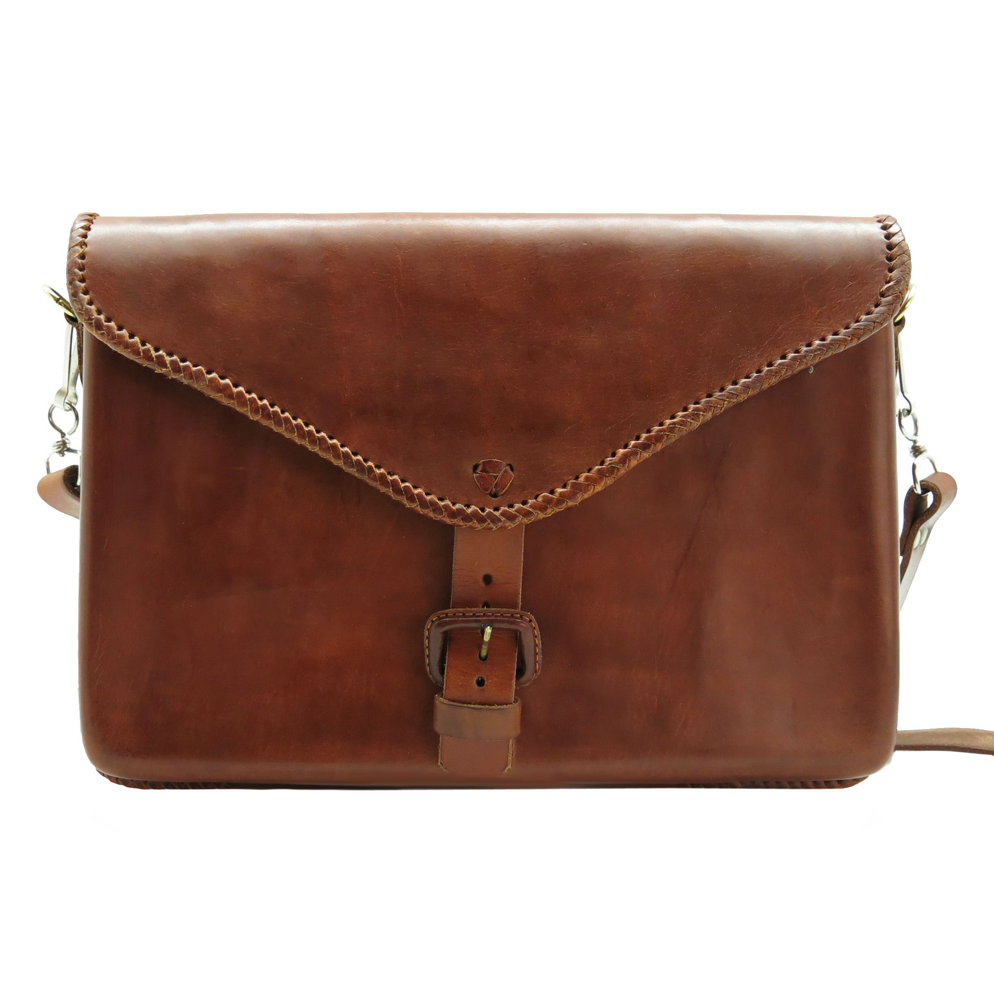 bag leather laptop handmade man