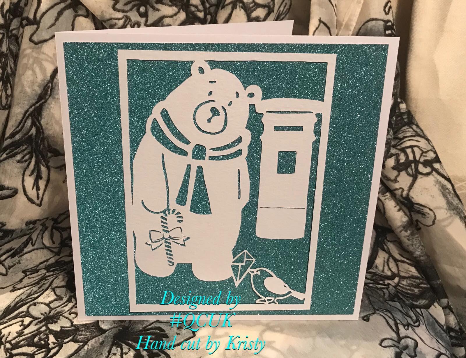 robin card quirkycraftsuk polar mistletoe and greetings xmas bird merry christmas qcuk bear making