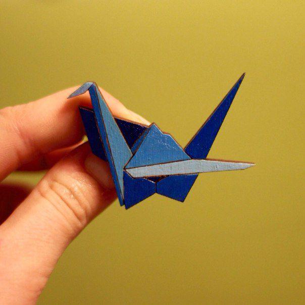 wooden fashionwood gift crane