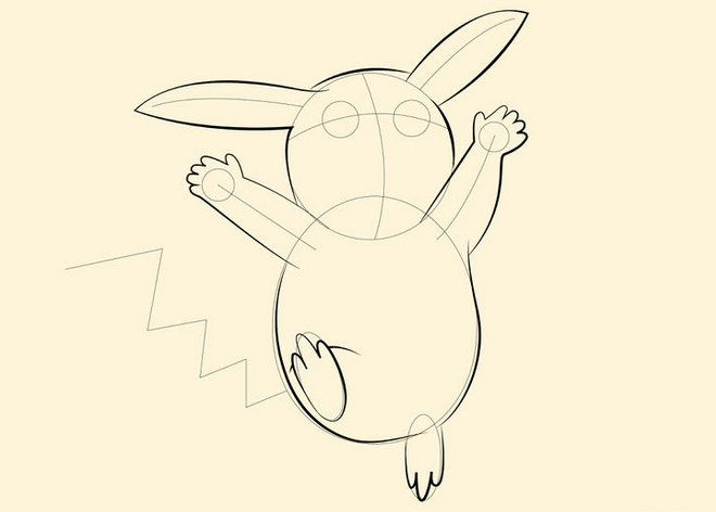 color pokemon pikachu draw art